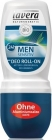 Lavera Men Sensitiv Deodorant Roll-On 24 hz extract of bio-bamusa and bio-lemongrass