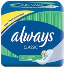 Classic Always sanitary napkin without flaps Normal