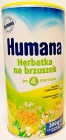 Humana tea on tummy