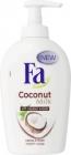 Fa Кокосовое молоко Крем мыло заботливым и свежие