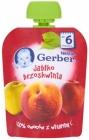 Gerber десерт в тюбике яблоко персик