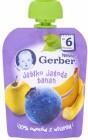 Gerber десерт в тюбике яблоко банана ягода