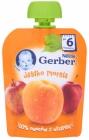 Gerber Deser w tubce jabłko
