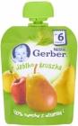 Gerber десерт в тюбике яблоко груша