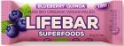 Lifefood Baton z jagodą i quinoa