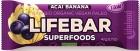 Lifefood Baton con acai y plátano BIO sin gluten BIO