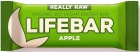 Lifefood RAW barra de manzana sin gluten BIO