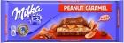 El chocolate Milka leche de cacahuete caramelo