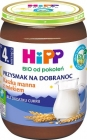 Hipp BIO delicacy goodnight semolina porridge with milk