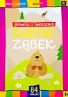 "Interdruk coloring book with stickers ""Stories about animals"" Marmot Clove"