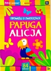 "Interdruk coloring book with stickers ""Stories about animals"" Parrot Alice"
