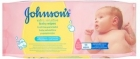 Johnson's Extra Sensitive Gentle Cleansing wipes for babies
