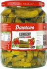 Dawtona Gherkins with habanero peppers