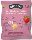 Biobim Mais Puffs Erdbeere Sterne BIO