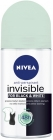 Antiperspirant Nivea Invisible Fresh roll on against white traces