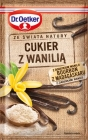 Dr.Oetker sugar with vanilla Bourbon from Madagascar with grains of vanilla