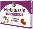 Herbitussin Thyme and coltsfoot diet pills on gardło.Suplement