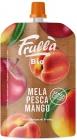 salsa de naturaleza Nuova Apple con mango y melocotón BIO