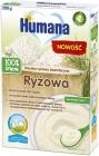 Humana 100% Органическая безмолочная рисовая каша