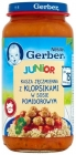 Gerber Junior Barley groats with meatballs in tomato sauce after 15 months