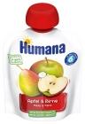 Humana 100% Organic apple-apple pear