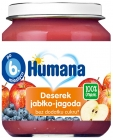 Humana 100% deserek Orgánica de manzana-berry