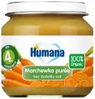 Humana 100% Органический морковное пюре