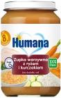 Humana 100% orgánicos sopa de verduras con arroz y pollo