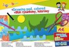 Gimboo Blok rysunkowy A4 kolorowy