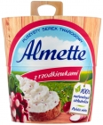Hochland Almette Fluffy cottage cheese with radishes