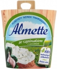 Hochland Almette Fluffy cottage cheese with spinach and garlic