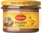 Drosed pate with goose poultry