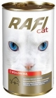 Rafi Cat Alleinfutter für ausgewachsene Katzen aller Rassen von Rindfleisch