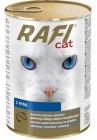 Rafi Cat Alleinfutter für ausgewachsene Katzen aller Rassen mit Lachs