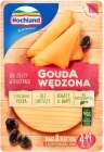 Hochland Yellow cheese sliced ​​Gouda smoked