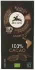 Alce Nero Bitter tablet 100% Bio Cocoa