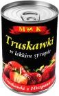 MK Truskawki w lekkim syropie