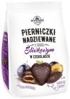 Copérnico Pierniczki rellena con sabor a ciruela en el chocolate