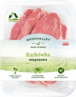 Pork sliced ​​from farm without antibiotics and without GMO. Prime Food