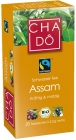 CHA-DO Organic, black tea in Assam bags
