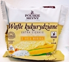 Польские мельницы кукуруза дополнительные тонкие вафли с морской солью