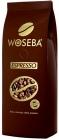 los granos de café espresso Woseba