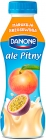 Danone ale Pitny. Peach and passion fruit yogurt drink