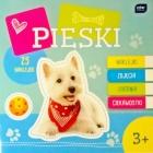 """Interdruk """"Perros"""" de libro para colorear con pegatinas"""
