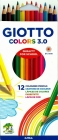 Giotto Pencils Colors 3.0 mm 12 colors