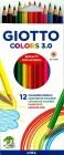 Giotto Kredki Colors 3.0 mm 12