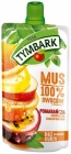 Tymbark Mousse 100% orange fruit, passion fruit, apple, banana