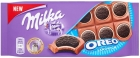 Milka Oreo Chocolate cocoa biscuits and milk filling with vanilla flavor on milk chocolate