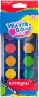 las pinturas de acuarela con pincel Keyroad 12 colores