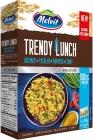 Melvit Tendencias basmati almuerzo de mezcla, habas, pimientos, 4x80g de curry